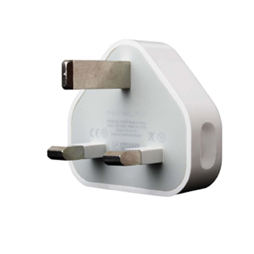 Genuine Apple 3 Pin UK Mains Charger - Bulk - A1399