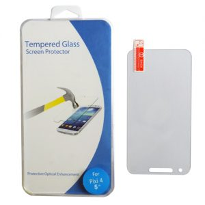 Pama Clear Tempered Glass Screen Protector For Alcatel Pixi4 5 Inch  - 1 Per Pack