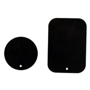 Pama Spare Magnets Plates x 2 - Circle and Rectangle