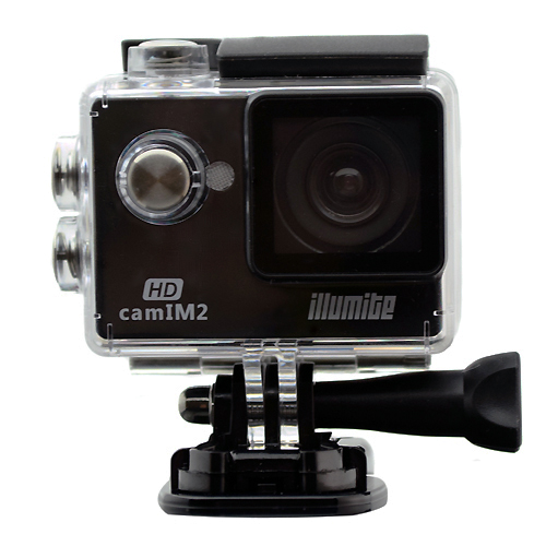 illumite camIM2 HD Sports Camera With Waterproof Case