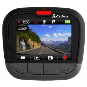 Cobra CDR 875 G Dash Cam - 1080P Full HD with Internal GPS and Bluetooth