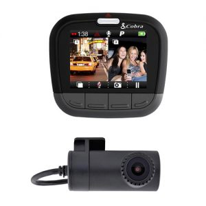 Cobra CDR 895 D Dash Cam - 1080P Full HD with Dual Camera's