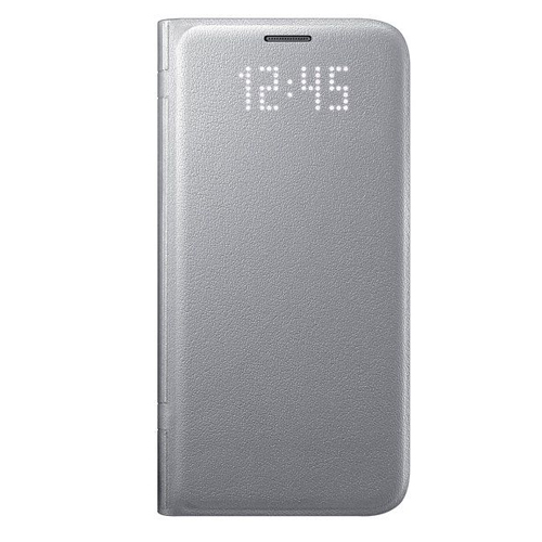 Genuine Samsung LED View Cover For SamsungS7 In Silver