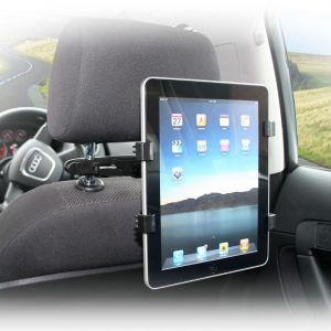 Pama Universal Holder and Headrest Mount For iPad and Other Tablets - IPADHHM