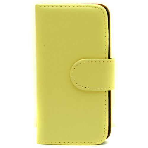 Pama Wallet Hard Frame Case To Fit iPhone5C In Yellow - IPH5CWHFCY