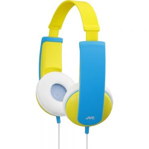 JVC HA-KD5-Y Kids Headphone with Volume Limiter in Yellow/Blue - JVCHAKD5Y