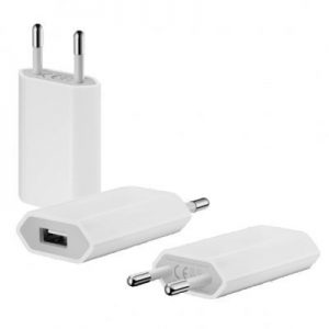 Genuine Apple 5W USB Travel Adapter 2 Pin - Bulk