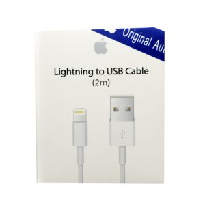 Genuine Apple Lightning To USB Cable (2m) Retail Packed - MD819Z