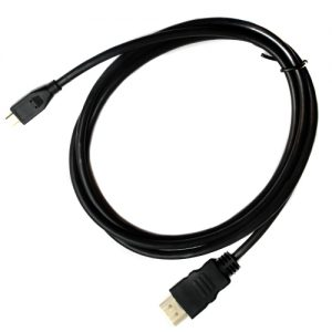 Pama Micro HDMI to HDMI Data Cable in Black 1.5M