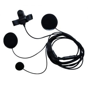 Pama Motor Bike Helmet Speaker and Microphone System for Cobra PMR's *White Boxed*