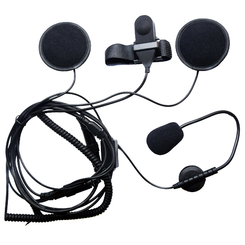Pama Motor Bike Helmet Speaker and Microphone System for Cobra PMR's *White Boxed*