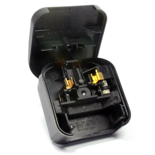 5 Amp 2 Pin To 3 Pin Converter Plug - PLGECP