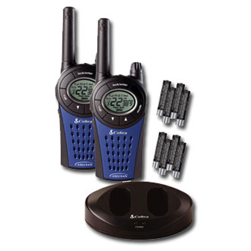Cobra MT975 Walkie Talkie Radios Twin Pack with  Batteries and charger UK Plug