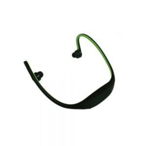 Pama Plug N Go 265 - Bluetooth Sports Neckband Headset - Mic/Remote -Black/Green