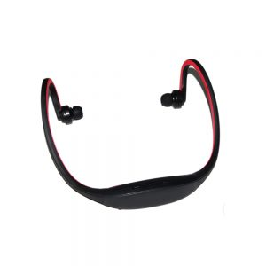 Pama Plug N Go 265 - Bluetooth Sports Neckband Headset - Mic/Remote - Black/Red