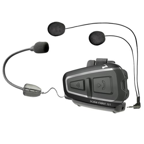 Cardo Scala Rider Q1 Motorcycle Bluetooth Helmet  - BTSRQ1