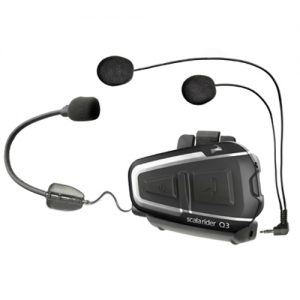 Cardo Scala Rider Q3 Motorcycle Bluetooth Helmet  - BTSRQ3