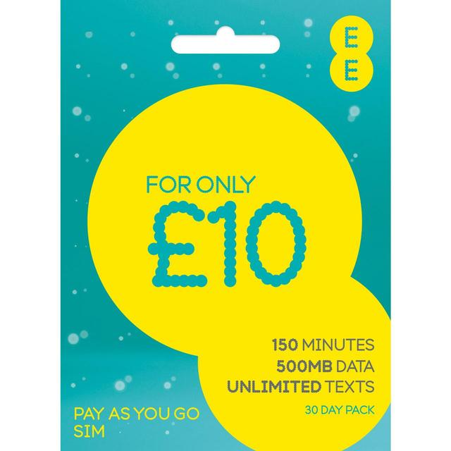 EE Pay As You Go Trio Sim ( Full MicroNano ) Retail Pack