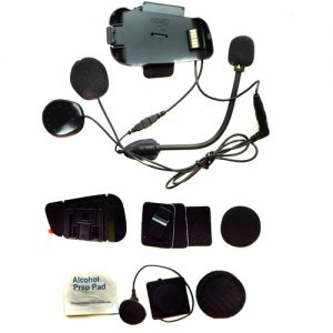 Cardo Scala Rider Audio/ Microphone Kit With Hybrid and Corded Booms for PackTalk