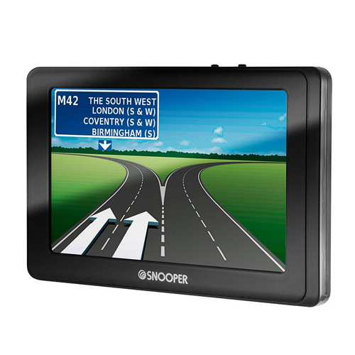 Snooper SC5800 DVR 5  Inch SatNav with Truckmate Extended European Mapping - SS5800E