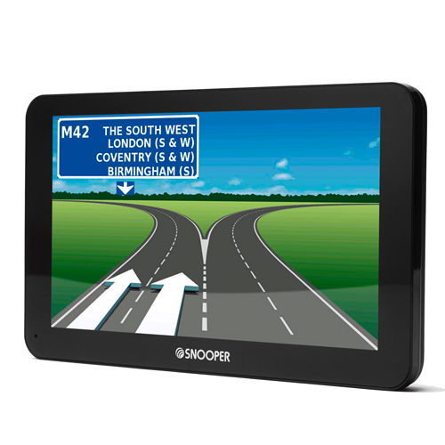 Snooper S6800 7 Inch Bus and Coach SatNav with Extended European Mapping