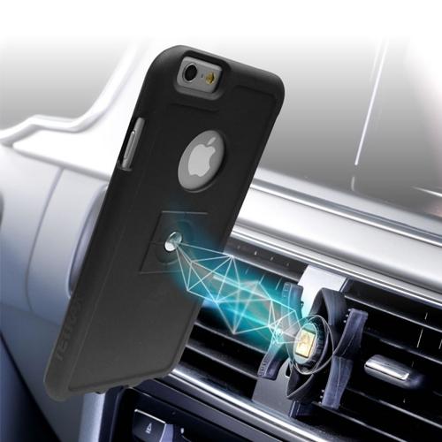 Tetrax iPhone6 Plus Bundle Smart and XCase - Black