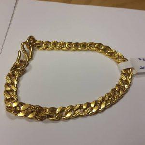 24ct curb link bracelet